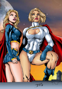 Supergirl, Power Girl from tony058