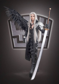 Ferasha Cosplay as Sephiroth