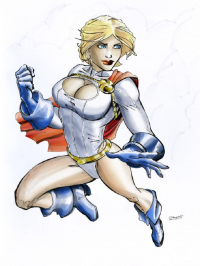 Power Girl from cbei