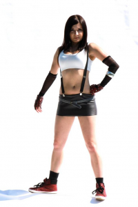 Goldbrush as Tifa Lockhart