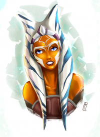 Ahsoka Tano from Fthiers-escorpion