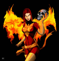 Dark Phoenix from Esteban Barrientos