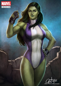 She-Hulk from Arturo Z. Gutierrez
