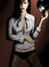Zatanna from Adam Tupper