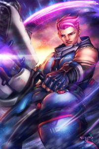 Zarya from Amir Mohsin