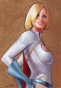 Power Girl from icarus126