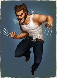 Wolverine from Tovmauzer