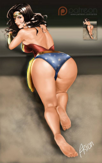 Wonder Woman from Arionart