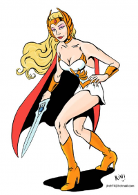 She-Ra from Juan Luis Rincón