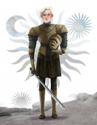 Brienne of Tarth from Leann Hill