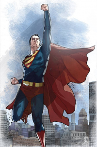 Superman from Bentti Bisson