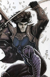 Gambit from Oliver Pulumbarit
