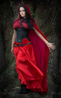 Scarlett Rose Cosplay as Little Red Riding Hood