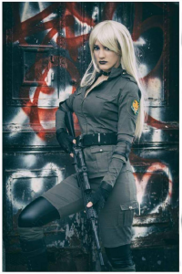 Sophie Valentine Cosplay as Sniper Wolf