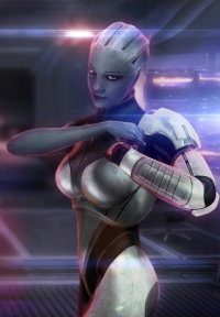 Liara T'Soni from Florian Guilbot