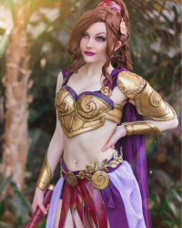 Ri Care as Megara/Battle Armor