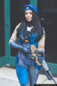 AllieCat Art & Cosplay as Ana Amari