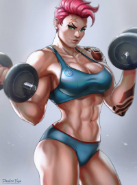 Zarya from Dandonfuga