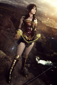 Florencia Jillian Sofen as Wonder Woman