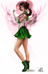Sailor Jupiter from Klsteeleart