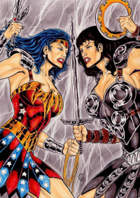 Wonder Woman, Xena from Gregohq