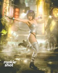 Lady Malice Cosplay as Motoko Kusanagi