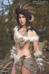 April Gloria as Forsworn