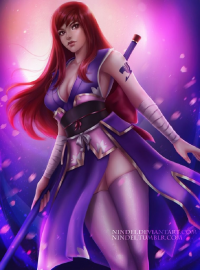 Erza Scarlet/Faerie from Nindei
