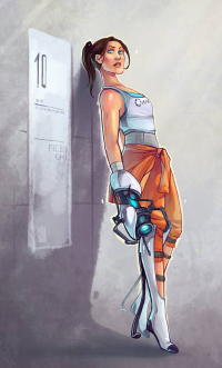 Chell from Avionetca