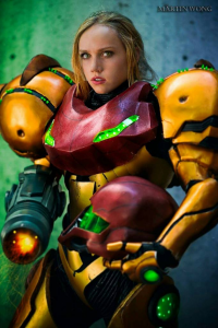 Pigtails And Power Tools Cosplay Creations as Samus Aran
