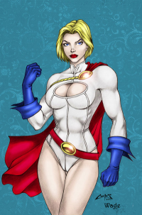 Power Girl from Jeff Wade