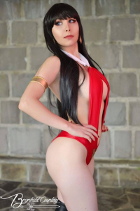 Brynhild Undómiel Cosplay as Vampirella