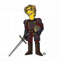 Jaime Lannister/The Simpsons from Adrien Noterdaem