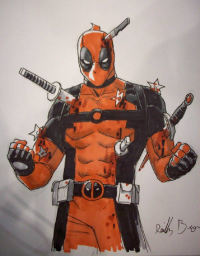 Deadpool from Reilly Brown
