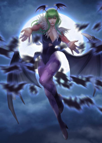 Morrigan Aensland from Blueart