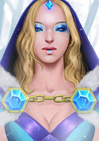 Crystal Maiden from Cattsparrow