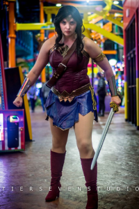 BBDesign Cosplay as Wonder Woman