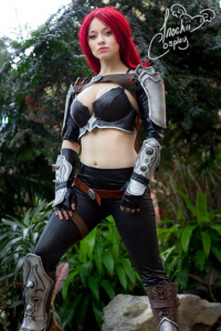 Inochii Cosplay as Katarina