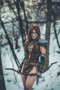 Lisa Lou Who as Aela the Huntress