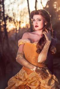 Anna-Sofia as Belle