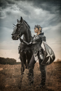 Darja Lefler as Black Knight