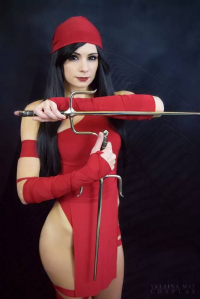 Yelaina May Cosplay as Elektra