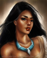 Pocahontas from chryssv