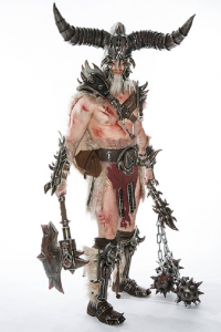 Ralf Zimmermann as Barbarian