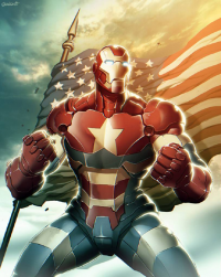 Iron Man/Captain America from Gonzalo Ord