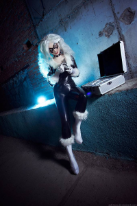 AGflower as Black Cat