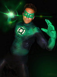 Unknown Male Artist as Green Lantern