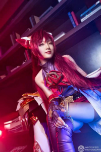 Miyuko Cosplayer as Jinx/Star Guardian