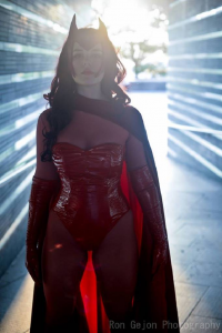 KokoroKristin as Scarlet Witch