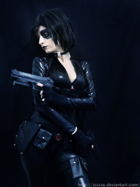 Ise Cosplay as Domino